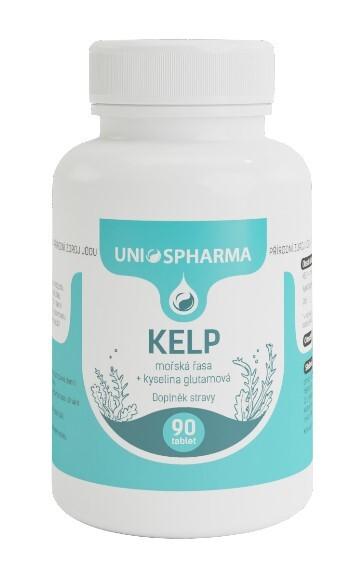 Fotografie Unios Pharma KELP+kyselina glutamová 50mg 90 tablet