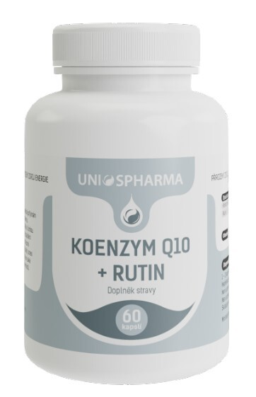 Zobrazit detail výrobku Unios Pharma Koenzym Q10 + rutin 60 kapslí