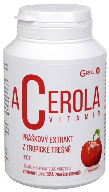 Zobrazit detail výrobku Grulich Acerola vitamín 100 g