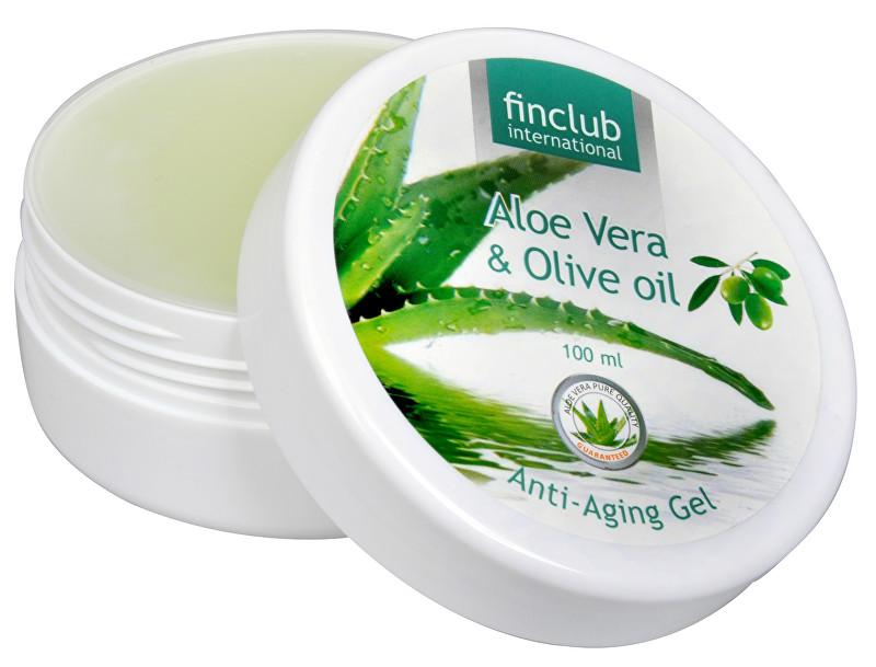 Zobrazit detail výrobku Finclub Anti-aging gel proti stárnutí Aloe vera & olivový olej 100 ml
