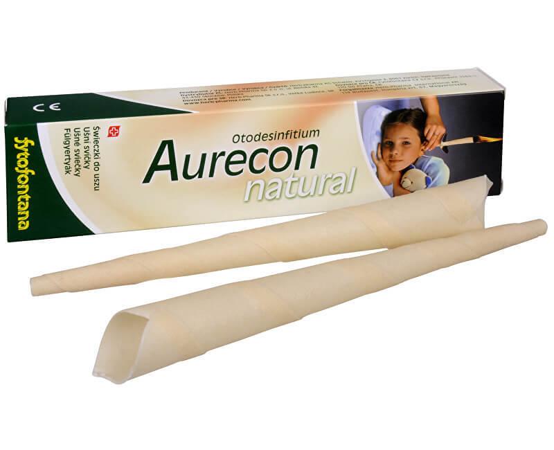 Zobrazit detail výrobku FYTOFONTANA Aurecon ušní svíčky Natural 2 ks