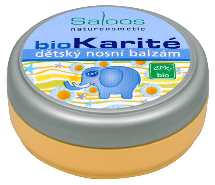Zobrazit detail výrobku Saloos Bio Karité balzám - Dětský nosní 19 ml