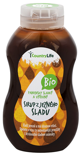 Bio Sirup ječný se sladem - přírodní sladidlo 250 ml