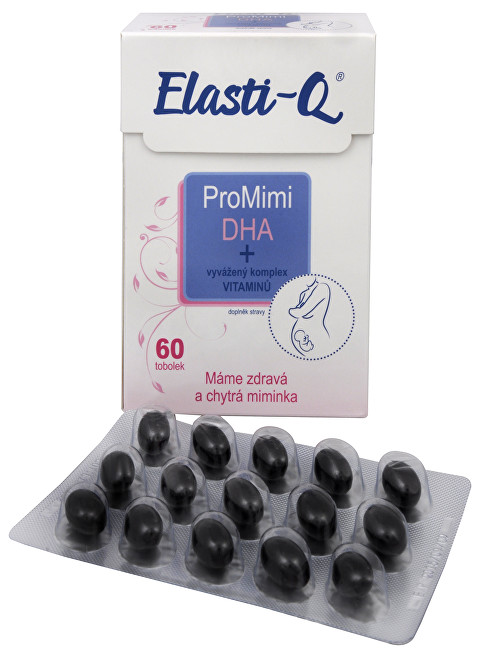 Simply You Elasti-Q ProMimi DHA 60 tbl.