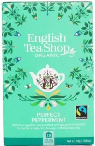 Zobrazit detail výrobku English Tea Shop Čistá máta 20 sáčků