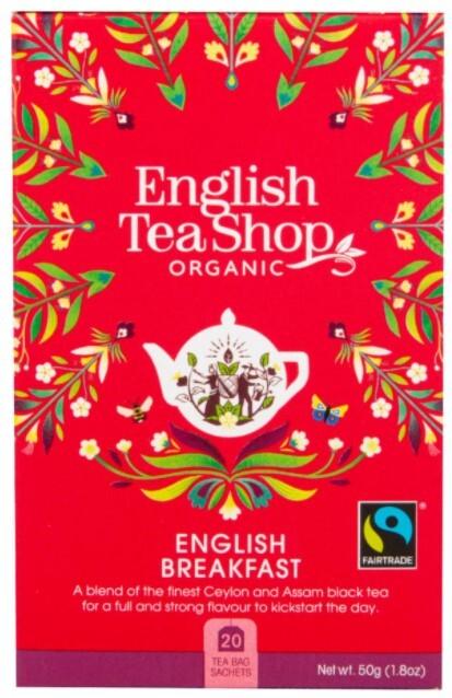 Zobrazit detail výrobku English Tea Shop Černý čaj English Breakfast 20 sáčků