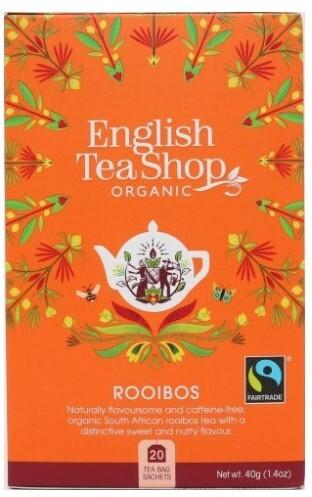 Zobrazit detail výrobku English Tea Shop Čistý Rooibos 20 sáčků