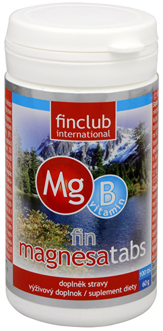 Zobrazit detail výrobku Finclub Fin Magnesatabs 100 tbl.