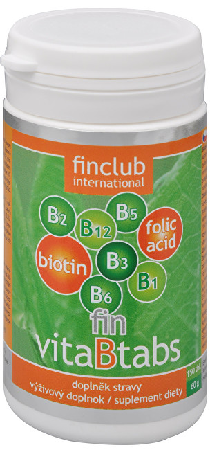 Zobrazit detail výrobku Finclub Fin VitaBtabs 150 tbl.