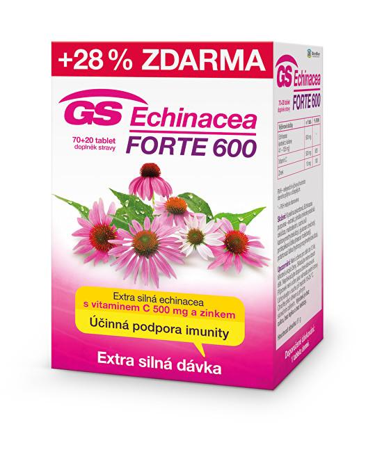 Zobrazit detail výrobku Green-Swan GS Echinacea FORTE 600 70 tbl. + 20 tbl. ZDARMA