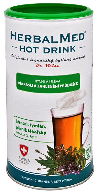 Simply You HerbalMed Hot Drink Dr. Weiss - kašeľ, priedušky 180 g