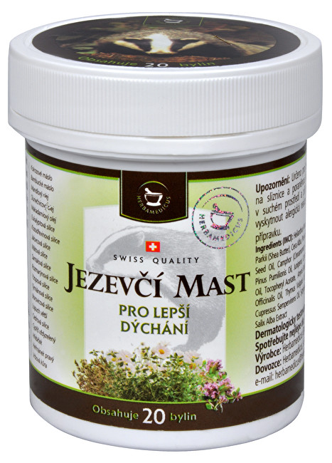 Zobrazit detail výrobku Herbamedicus Jezevčí mast 50 ml