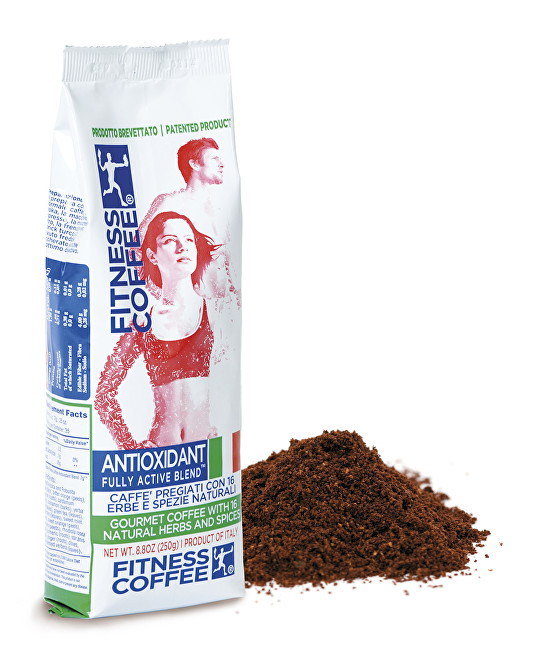 Zobrazit detail výrobku Monvitaly Káva Fitness Coffee® Antioxidant Fully Active Blend mletá 250 g