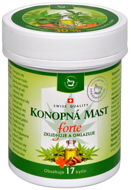 Zobrazit detail výrobku Herbamedicus Konopná mast FORTE 125 ml