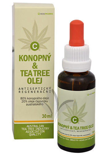 Konopný & Tea Tree olej 30 ml