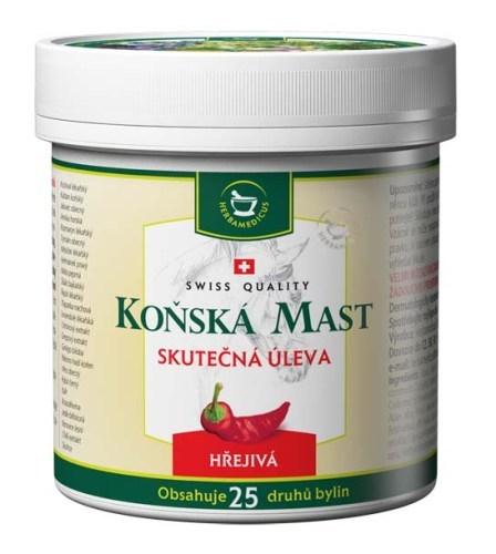 Zobrazit detail výrobku Herbamedicus Koňská mast hřejivá 500 ml