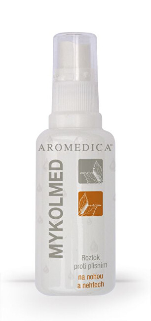 Zobrazit detail výrobku Aromedica Mykolmed - spray proti plísním na nohou a nehtech 50 ml