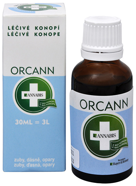 Orcann - konopná ústní voda 30 ml