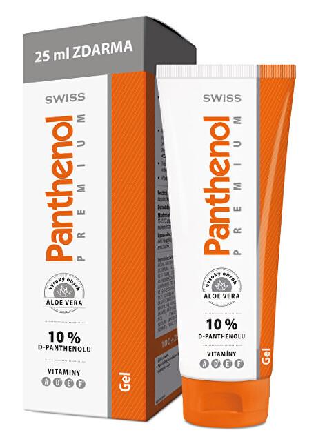 Panthenol 10% Swiss PREMIUM - gel 100 ml + 25 ml ZDARMA