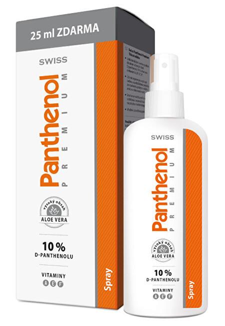 Fotografie SIMPLY YOU Swiss Panthenol premium spray aloe 150 + 25 ml ZDARMA