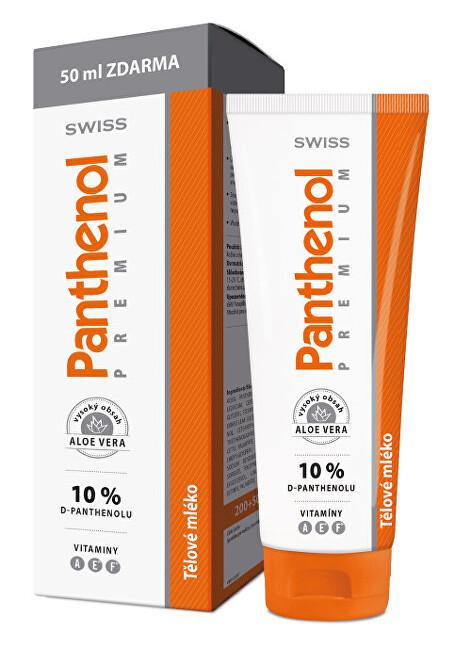 Zobrazit detail výrobku Simply You Panthenol 10% Swiss PREMIUM - tělové mléko 200 ml + 50 ml ZDARMA