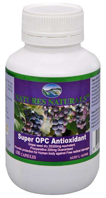 Zobrazit detail výrobku Australian Remedy Super OPC Antioxidant - výtažek z hroznových zrnek 100 kapslí