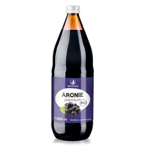 Zobrazit detail výrobku Allnature Aronie Premium - 100% Bio šťáva 1000 ml