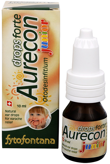 Fytofontana Aurecon drops Forte ušní kapky Junior 10 ml