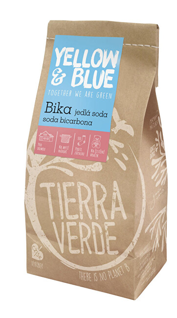 Zobrazit detail výrobku Yellow & Blue BIKA - jedlá soda PE sáček 1 kg