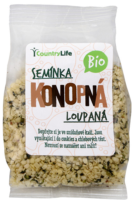 Zobrazit detail výrobku Country Life Bio Konopné semínko loupané 100 g