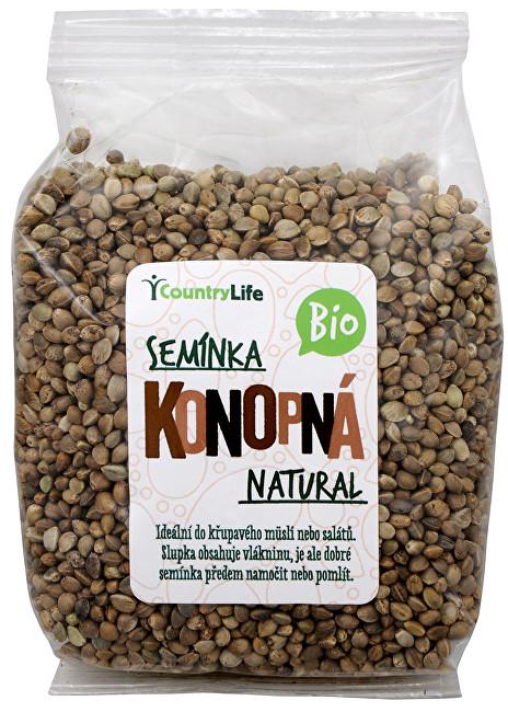 Zobrazit detail výrobku Country Life Bio Konopné semínko neloupané 250 g