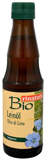 Lněný olej 250 ml BIO - za studena lisovaný