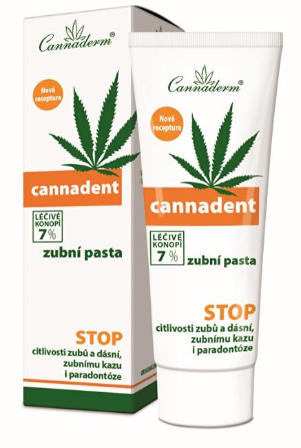 Zobrazit detail výrobku Cannaderm Cannaderm Cannadent zubní pasta NEW 75 g