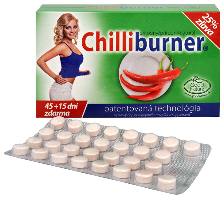 Good Nature Chilliburner 45 tbl.  15 tbl. ZDARMA