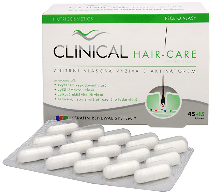 Clinical Clinical Hair-care 45 tob.  15 tob. ZDARMA