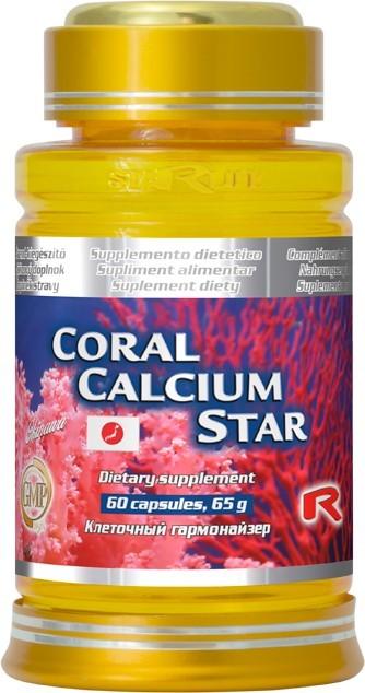 Zobrazit detail výrobku STARLIFE CORAL CALCIUM STAR 60 kapslí