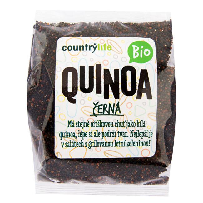 Country Life Quinoa čierna BIO 250 g