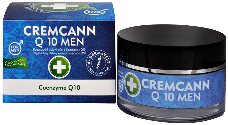 Cremcann Q10 For men - konopný regenerační pleťový krém pro muže přírodní 50 ml