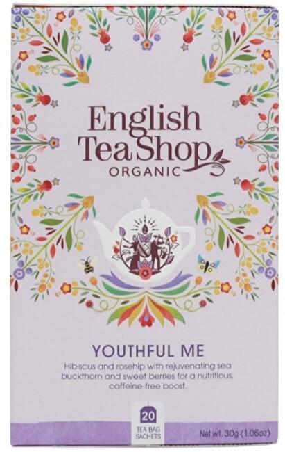 Zobrazit detail výrobku English Tea Shop BIO Wellness čaj - Omlazení 20 sáčků