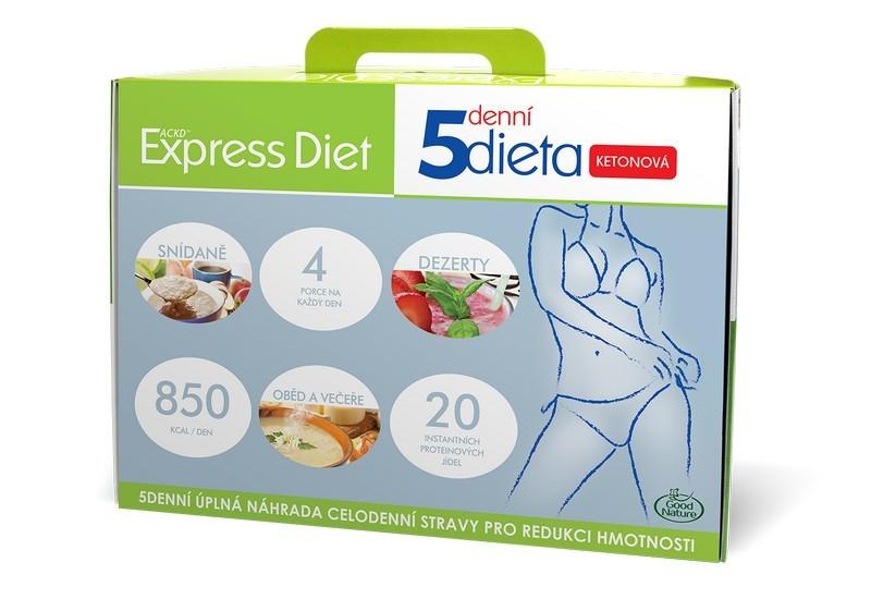 Zobrazit detail výrobku Good Nature Express Diet 5denní dieta proteinová 20 x 55 g
