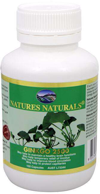 Zobrazit detail výrobku Australian Remedy Ginkgo 2500 mg 100 kapslí