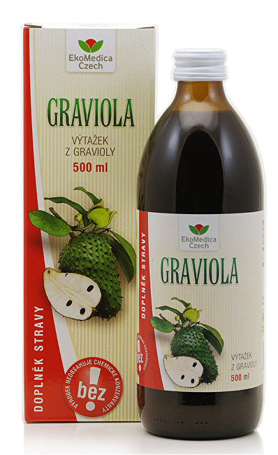 Graviola - výtažek z gravioly 500 ml