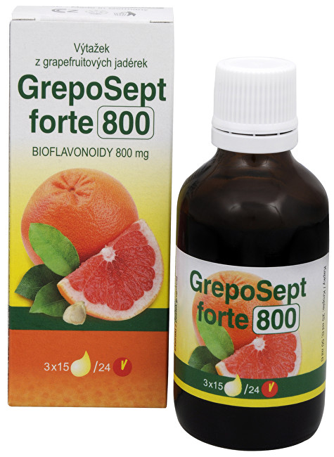 RTJ group GrepoSept Forte 800 kapky 50 ml