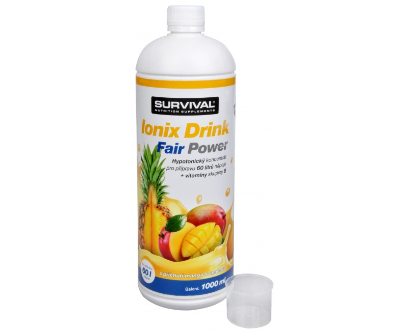 Survival Ionix Drink Fair Power 1000 ml Ananas-Mango