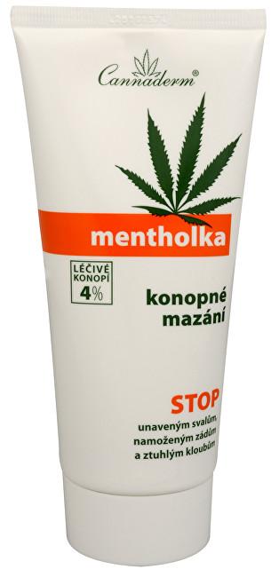 Zobrazit detail výrobku Cannaderm Mentholka konopné mazání 200 ml