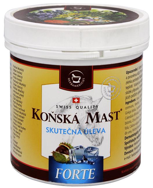 Zobrazit detail výrobku Herbamedicus Koňská mast Forte chladivá 250 ml