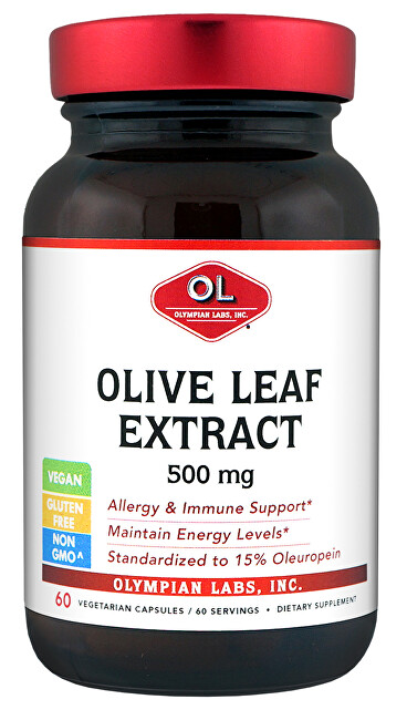 Olive Leaf Extract 500 mg 60 kapslí