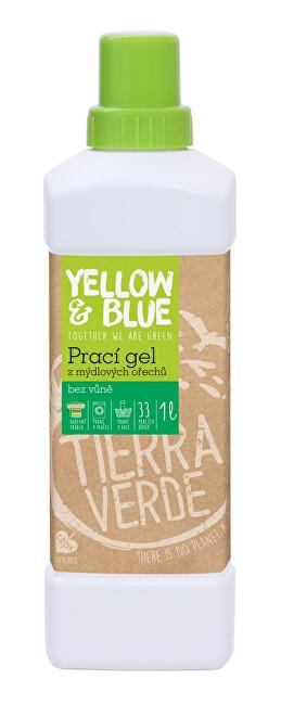 Zobrazit detail výrobku Yellow & Blue Prací gel z mýdlových ořechů 1 l