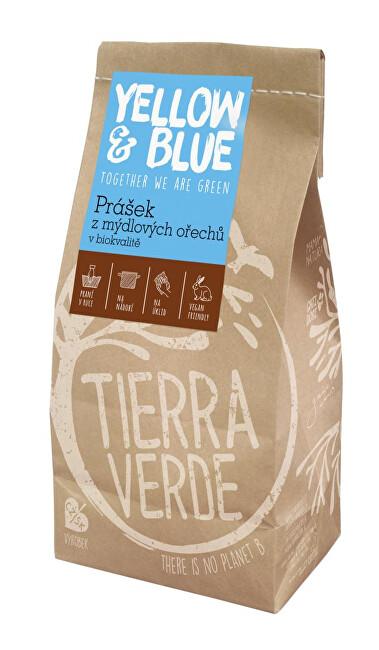 Zobrazit detail výrobku Yellow & Blue Prášek z mýdlových ořechů v bio kvalitě PE sáček 0,5 kg