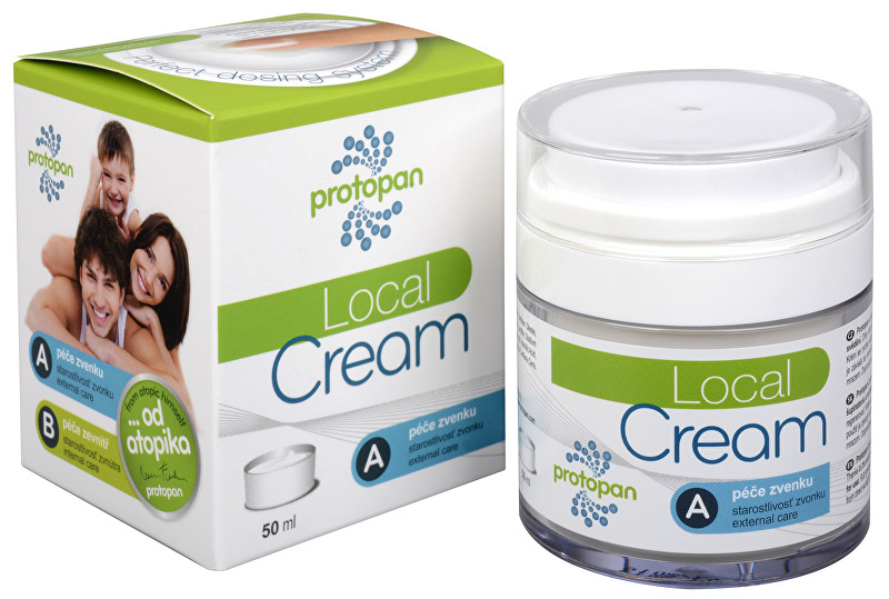 Herbo Medica Protopan® Local Cream - promašťovací krém 50 ml